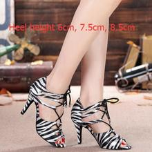 Women Dance Shoes 2017 New Brand Line Square Ballroom/Tango/Latin/Salsa Dancing Shoes Women Ladies Girls Popular Style