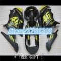 For KAWASAKI NINJA 300 300R Yellow black 2013 2014 ZX300R EX300 EX 300 yellow blk EX300R 13 14 Fairing