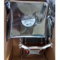 Для hp Z820 ЦП сервера радиатор + Вентилятор Комплект 684025 001 636164 001 охлаждающий вентилятор охладитель радиатора