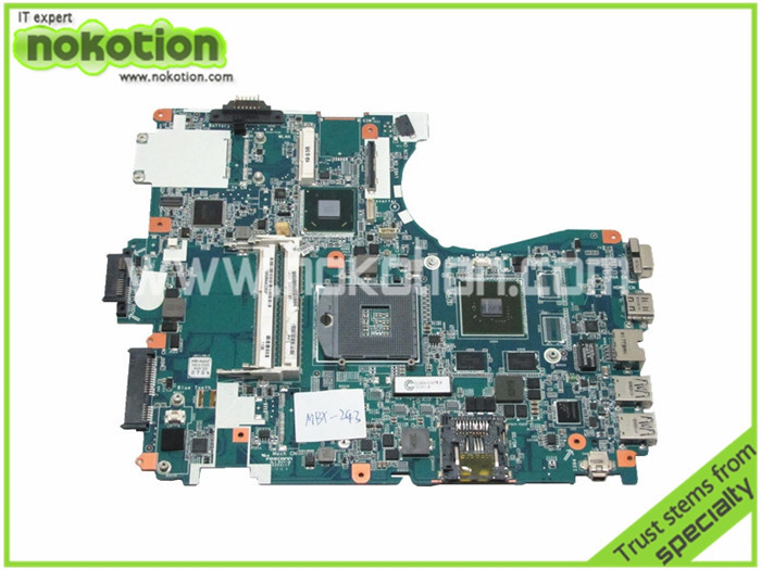 Laptop Motherboard for Sony Vaio VPC-F2 MBX-243 1P-0113J03-8011 HM65 GT540M DDR3 Mother Board High Quality mbx 224 laptop motherboard for sony vaio vpc ea m960 mbx 224 a1780052a 1p 009cj01 8011 available new