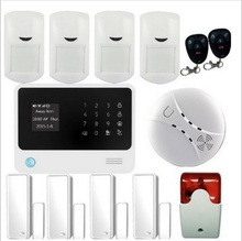 G90B plus intruder home alarm wireless security GPRS GSM WIFI alarm system APP control smart alarm