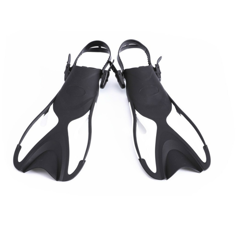 2018 New Adjustable Children Kids Super-soft Comfortable Snorkeling Swimming Fins Long Flippers Diving Training Equipment A