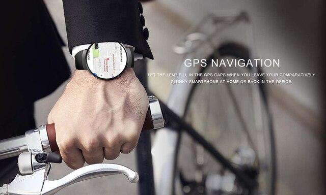 שעון אנדרואיד חכם הכולל בדיקת קצב הלב 4