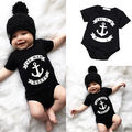 Short Sleeve Cute Children Kids Baby Boy Clothes Romper Jumpsuit Outfit Boys Romper