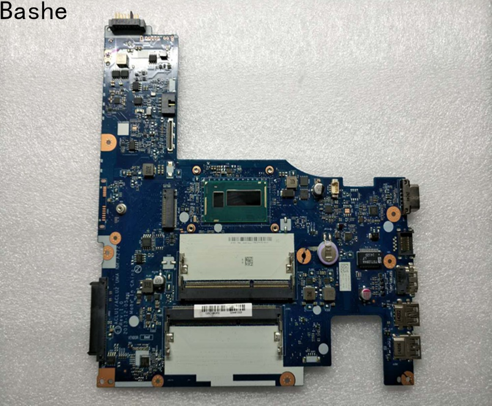 Bashe ACLU1 ACLU2 NM A272 laptop Motherboard for Lenovo G50 70 Z50 70 motherboard i5 CPU