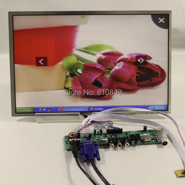 все цены на  TV/PC/HDMI/CVBS/RF/USB/AUDIO driver Board+14.1inch 1440*900 with led backlight  онлайн