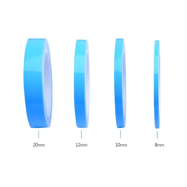 5m 10 m/rolka termiczna klej przewodzący taśma 8mm 10mm 12mm 20mm szerokość transferu taśma dwustronna do chipa PCB taśmy LED radiator