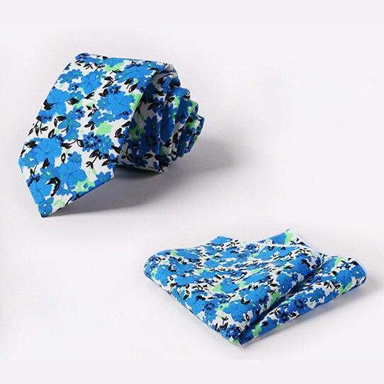 2016 мужчин тонкий галстук человек свадьба галстуки мужской синий цветок печати kravat гент цветочные галстук платок mariage шеи галстук