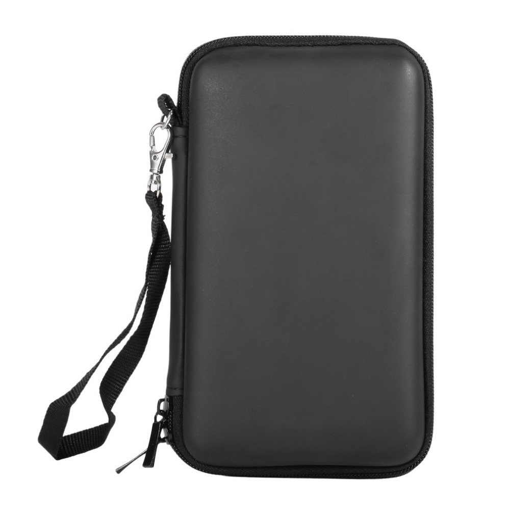 Portable EVA Carry Case Game Console Bag Anti-shock Storage Bag Travel Carrying Hard Bags Case For Dual Screen 2DSLL