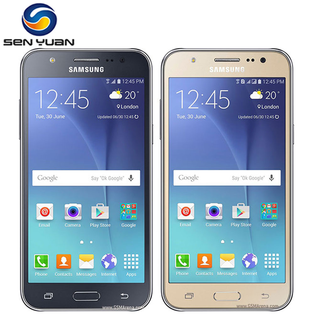 samsung phones touch screen android with price 2015. original samsung galaxy j5 cell phone dual sim j500f j500h phone quad core 1.5gb ram phones touch screen android with price 2015 h