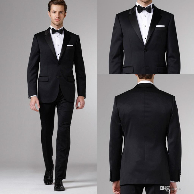 Groom Tuxedos Blazers 3 Pieces Designer Suits For Men Business ...
