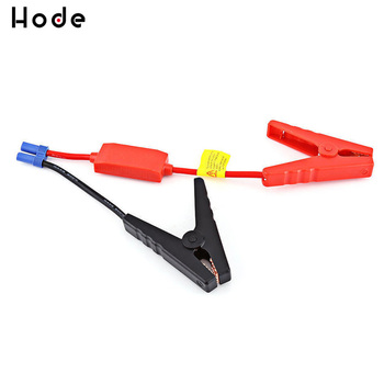 Red Black Battery clip Connector Emergency Jumper Cable Clamp Booster Battery Clips for Universal 12V Car Starter Jump image