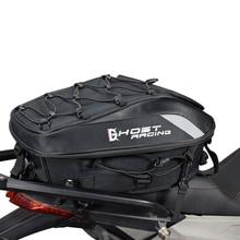 Multi-functional Durable Rear Motorcycle Seat Bag Waterproof Tail  High Capacity Rider Backpack
