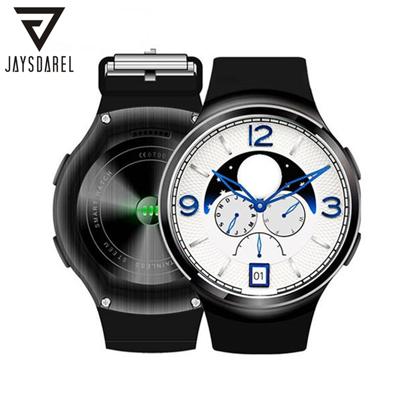 JAYSDAREL Android 5.1 Heart Rate Monitor Smart Watch X3 Plus 3G Call SIM Card GPS Tracker Pedometer Bluetooth Smartwatch Phone smart phone watch 3g 2g wifi zeblaze blitz camera browser heart rate monitoring android 5 1 smart watch gps camera sim card