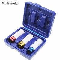 Ninth World 3Pcs 1 2 17mm 19mm 21mm High Quality Alloy Thin Wall Wheel Nut Deep