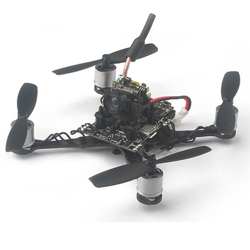 Trainer 90 0706 1S Brushless FPV Drone with Flysky Frsky DSM/2/X Receiver Fusion X3 Flig ...