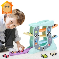 Magic Racing Cars Model Toys For Children Ramp Racer Railway Track With Gliders Little Car Toy For Boys Birthday Gifts Kids