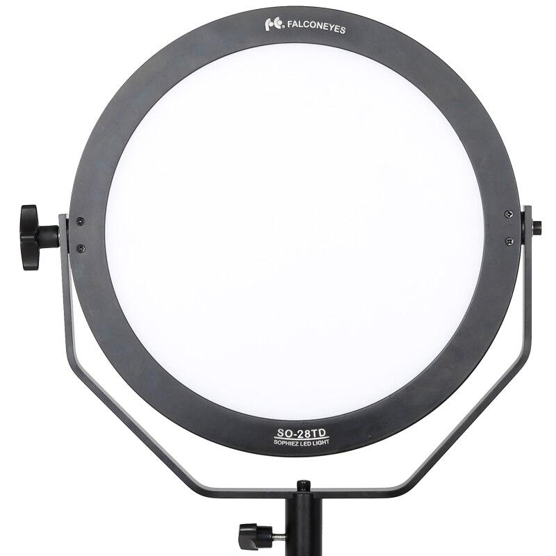 Falcon Eyes luz de video 28W llevó la lámpara del panel de - Cámara y foto - foto 2
