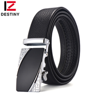 DESTINY The New Top Genuine Leather Belt Men High Quality Fashion Wedding Strap Male Jeans Luxury