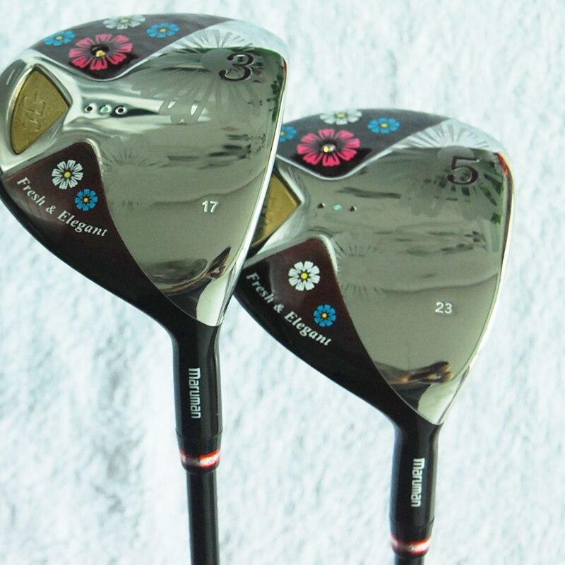 Cooyute New mens Golf clubs Maruman FL 3/17 5/23 Golf fairway wood with Graphite Golf sh ...