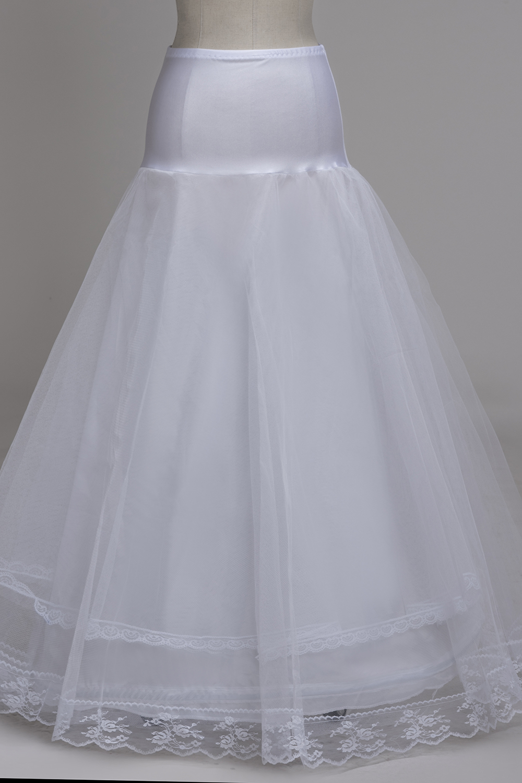 Womens 4-Hoop A-line Wedding Ball Gown Petticoat Underskirt ...