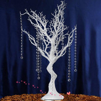 60cm to 120cm Tall Simulation of White Christmas Tree Environmental Protection Resin Wedding Table Decoration Home Decor Trees