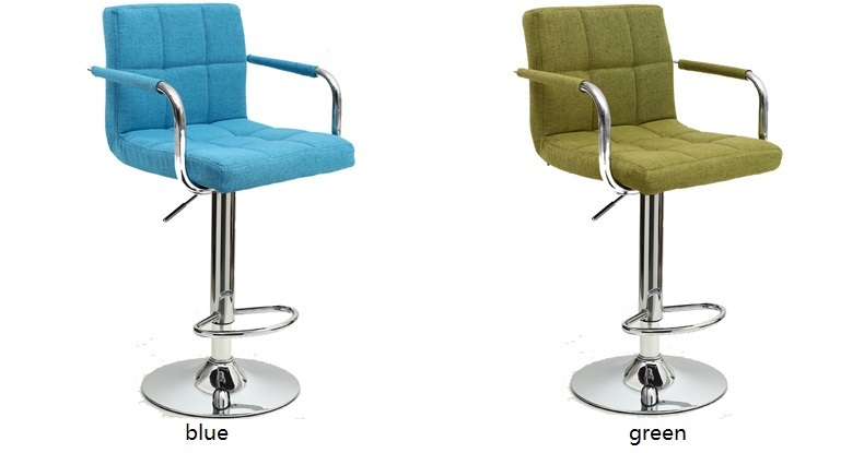 Christmas bar chair North American popular coffee stool blue green color free shipping
