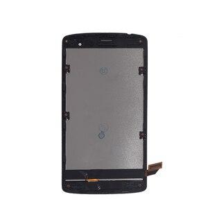 Image 4 - الأصلي LCD ل LG ليون H340 h320 h324 H340N H326 MS345 C50 شاشة إل سي دي باللمس الشاشة مع طقم تصليح الإطار استبدال + أدوات