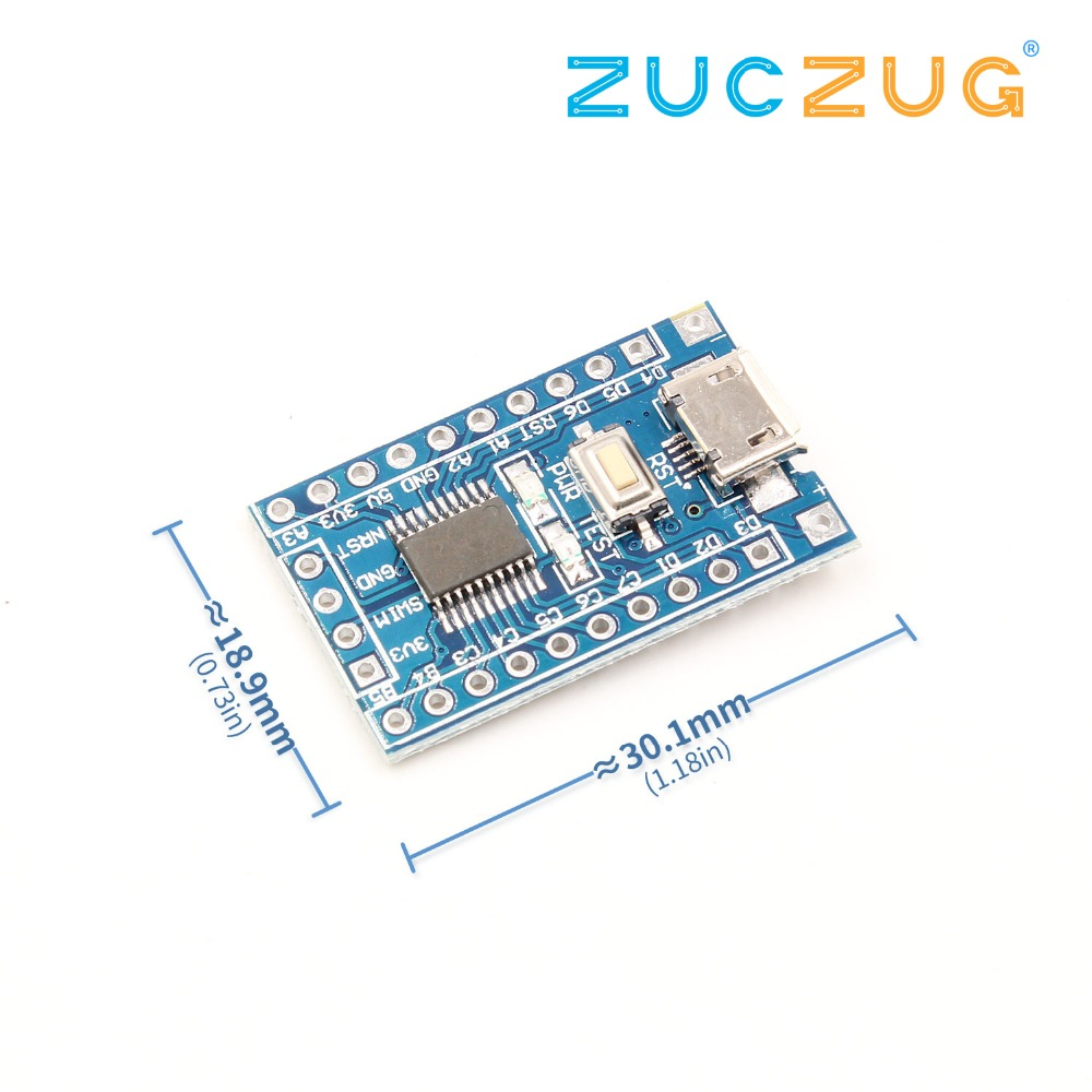 1pcs STM8S103F3P6 System Board STM8S STM8 Development Board Minimum Core Board