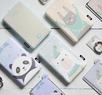 Original 8000 mAh ngân hàng điện External Battery Pack Thoại Di Động Cầm Tay Charger Kép USB Output Cho Điện Thoại di động Tablet PC
