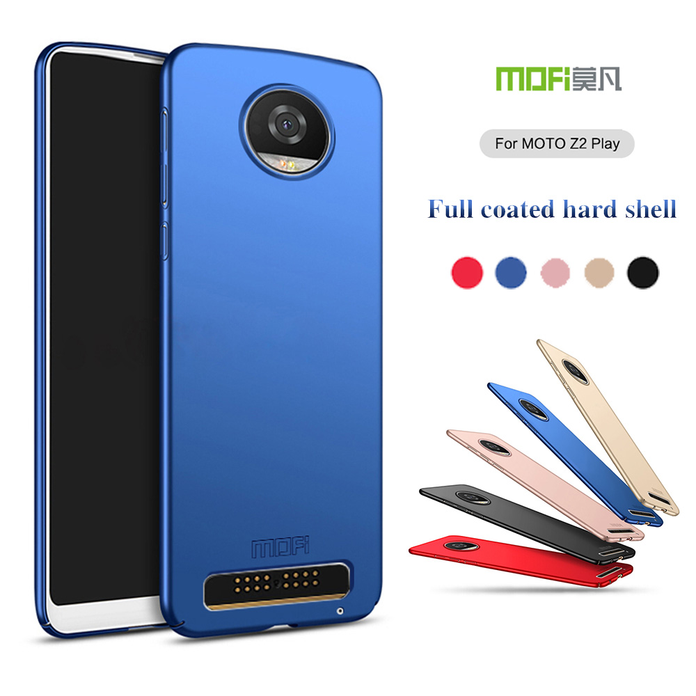 MOFI 360 Full Protective Ultra thin Slim Matte Hard Back Cover for Motorola Moto Z2 Play (5.5inch) Phone Fundas Capas Shell