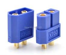 5 paires connecteurs de balle bleu XT60 prise plaquée or mâle femelle pour batterie RC quadrirotor Multicopter