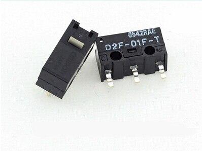 2 шт./лот 100% original Сделано в Японии серый в горошек Omron D2F-01F D2F-01F-T мышь микропереключатель кнопку мыши золото контакты сплава
