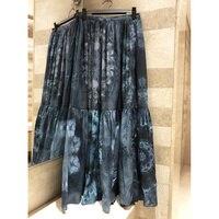 Женская юбка средней длины летние хлопковые цветные юбки с галстуком летние 2019 модные легкие длинные юбки в стиле ретро