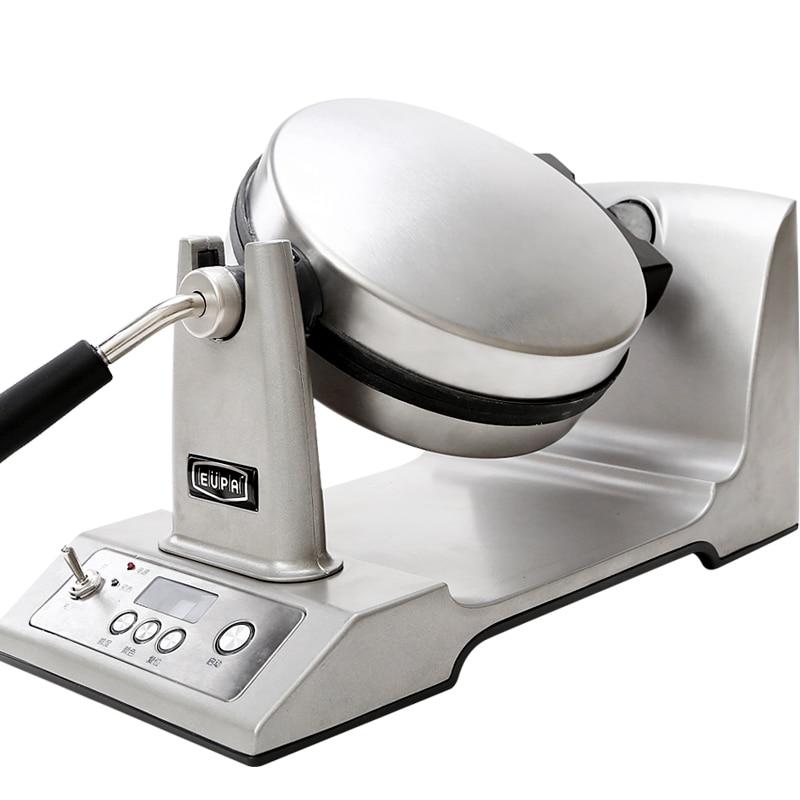 Eupa Elektrikli Döner Waffle makinesi İşlevli Elektrikli Pişirme Pan Fırın Pişmiş Kek Gözleme Makinesi TSK-2193W