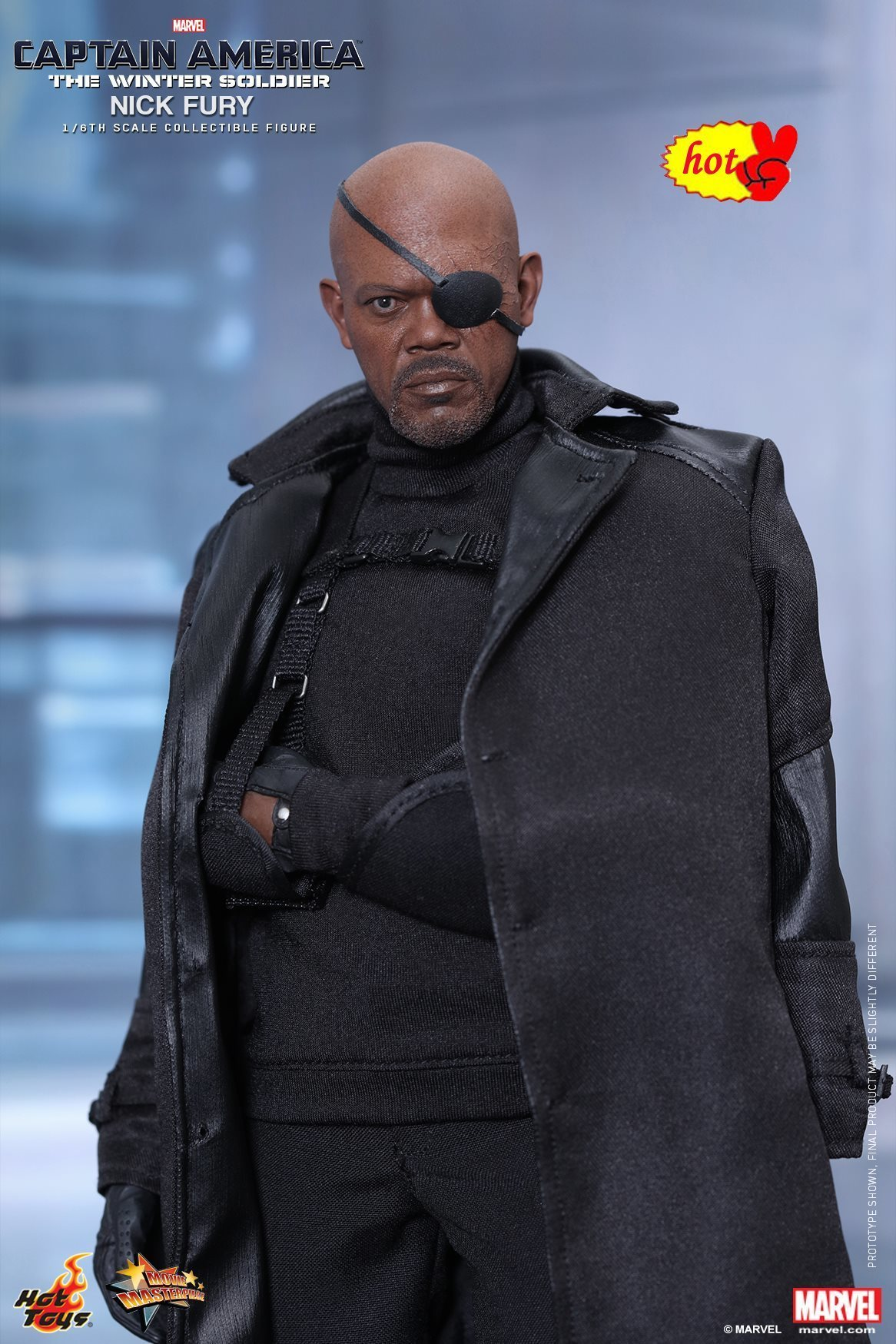HT Hottoys Hot Toys MMS315 The Winter Soldier 1/6th Scale Nick Fury Collectible Figure Specifica Action Figure Nuovo Box военные игрушки для детей hot toys wt hottoys ht 1 6