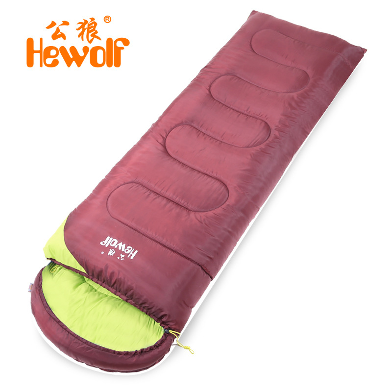 Hewolf Outdoor Camping Sleeping Bags Ultralight Multifuntion Envelope Travel Sleeping Bag Hiking Camping Equipment 190cm*30cmHewolf Outdoor Camping Sleeping Bags Ultralight Multifuntion Envelope Travel Sleeping Bag Hiking Camping Equipment 190cm*30cm