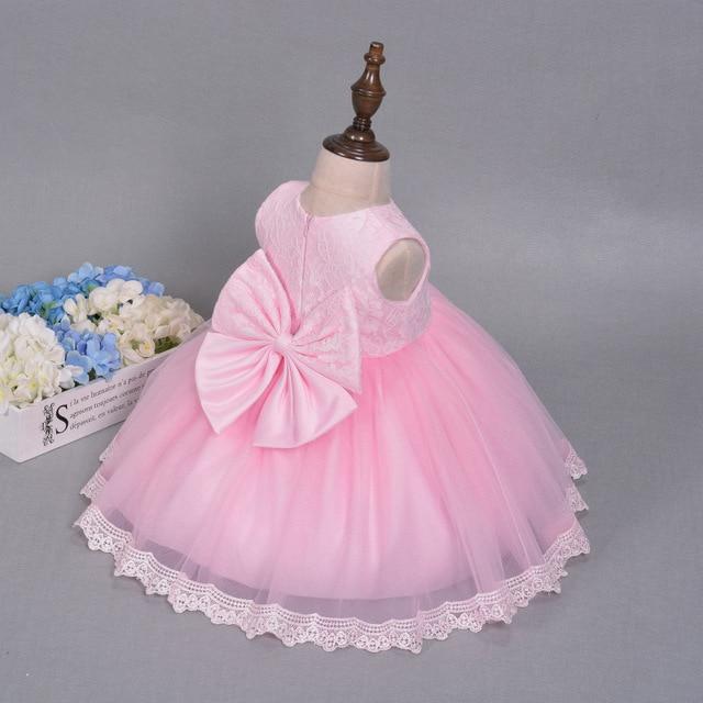 DOTE Niña Ropa Infantil Vestido de Partido De primera Niña Bebé ...