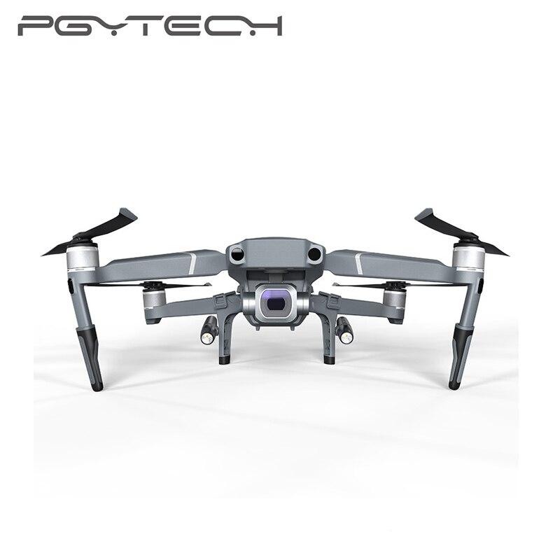 PGYTECH Mavic 2 LED Extension de train d'atterrissage pieds support squelette étendu ensemble de phares pour DJI Mavic 2 Pro/Zoom protecteur-in Kits d'accessoires pour drones from Electronique    3