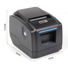 IssyzonePOS USB/Ethernet/Serial Interface thermal receipt 80m bill printer Kitchen Restaurant POS printer With automatic cutter цены онлайн