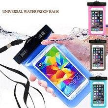 2017 ПВХ грязи водонепроницаемый ударопрочный телефон сумка Обложка Чехол для Huawei P8/P8 Lite P9 P9 плюс P9 Lite G9 карман для мобильного телефона