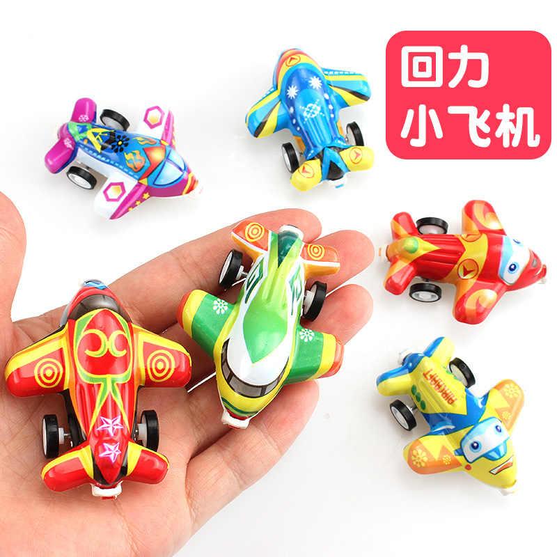 1PC Melingkar Transparan Mobil Mainan Menarik Kembali Tehnik Kecil Model Mobil Mainan Anak-anak Hadiah Acak Warna Diecasts Mainan Kendaraan