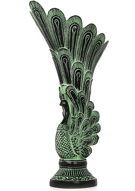 Peacock Copper Vase Antique Bronze Ornaments Home Decor Furnishings Business Gifts Vase Garden Decoration Brass Bronze