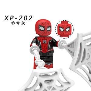 Image 5 - Spider Man loin de la maison Figure o mystériio Spider Man Noir Gwenom blocs de construction briques jouets compatibles avec Lego KT1027