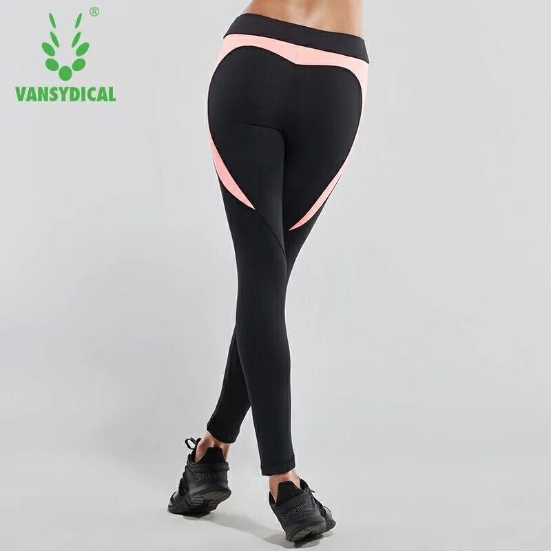 Women Running Pants Tight Workout Sports Leggings Yoga Pants Sportswear Athletic Fitness jogging Trousers