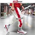 LAPPSTER Männer Streetwear Reflektierende Jogger Hosen 2020 Mann Koreanische Mode Hip Hop Jogginghose Paar Seite Gestreiften Hosen 5XL