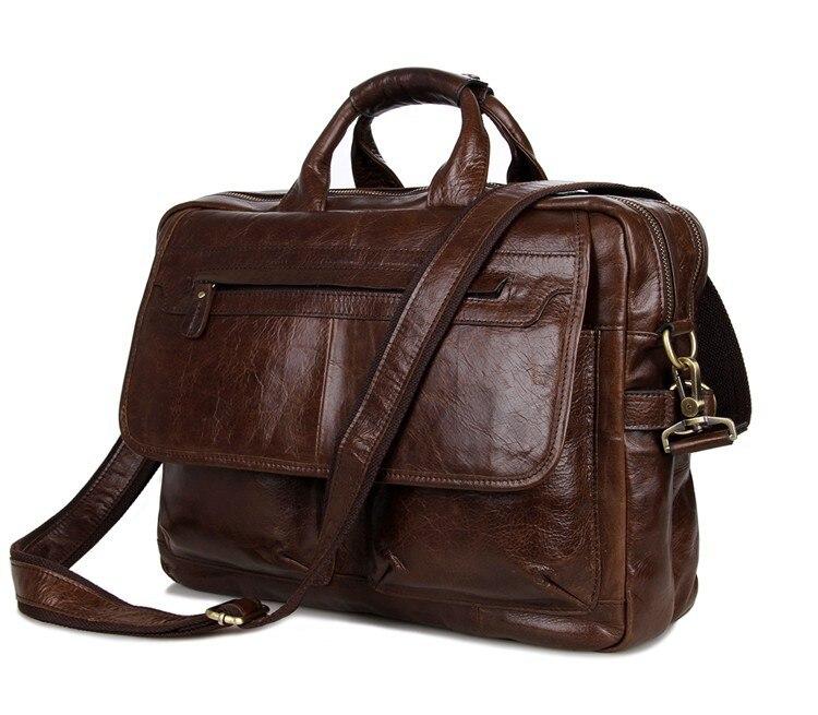 Nesitu Vintage Genuine Leather Men Messenger Bags Coffee Mens Briefcase Portfolio Business 14 Laptop Handbag M7085Nesitu Vintage Genuine Leather Men Messenger Bags Coffee Mens Briefcase Portfolio Business 14 Laptop Handbag M7085