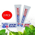 2PCS Japan Lion White&White Toothpaste Dental daily use Whitening Strengthen teeth Remove smokers stains dirt, plague, bad smell