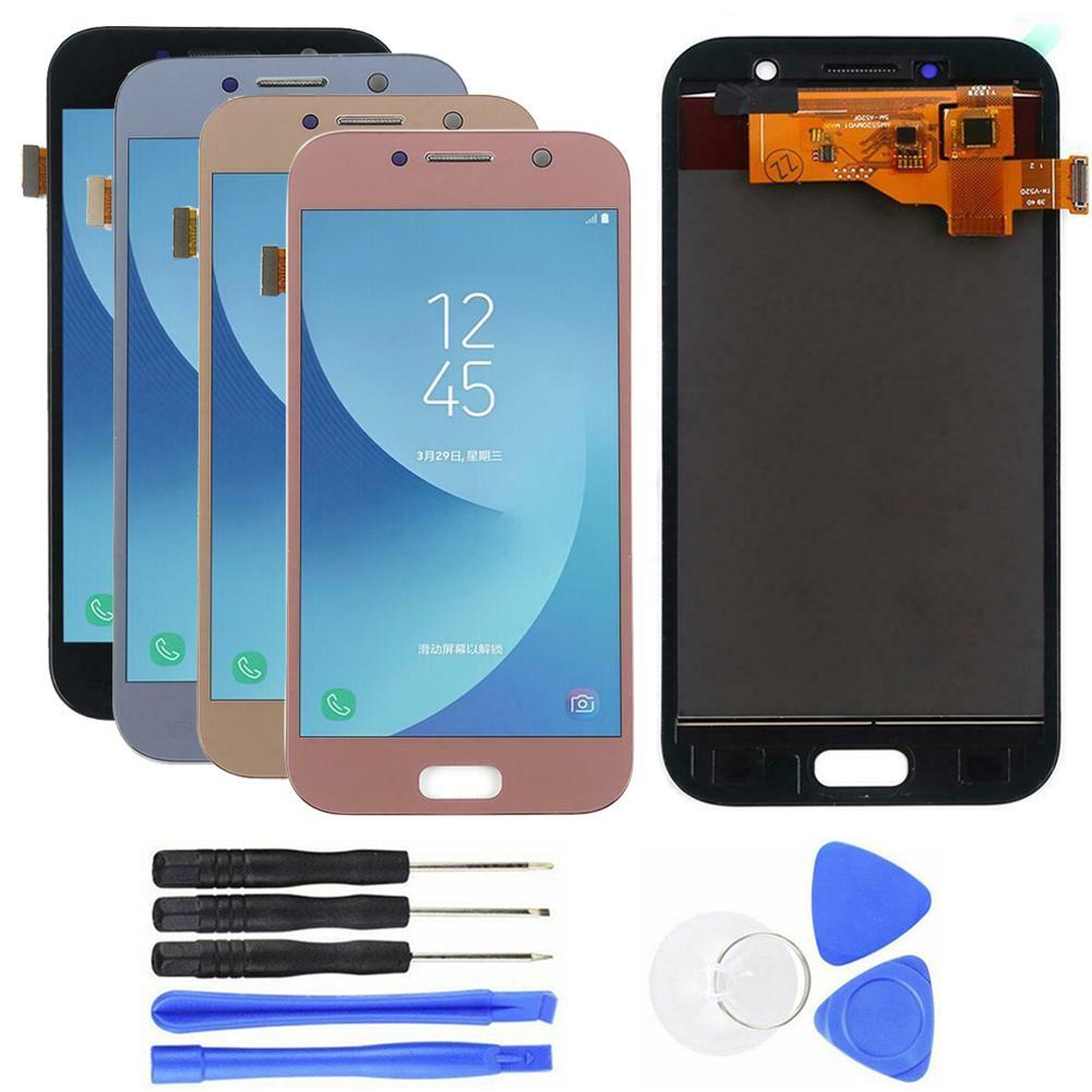 Pièces de rechange de numériseur d'écran tactile d'affichage à cristaux liquides pour Samsung Galaxy A5 2017 SM-A520 pour Samsung Galax J5 2019