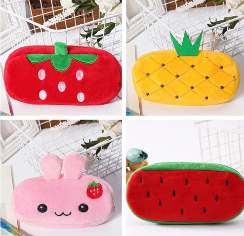 Cartoon Fruits 21CM Approx. New Sweet Coin Wallet , Coin Pocket Purse BAG Pouch(China)